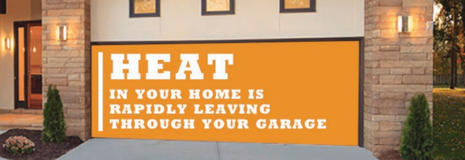 Heat Rapidly Leaves Your Home Through The Garage