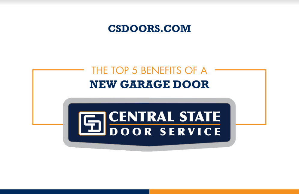 Top 5 benefits of a new garage door