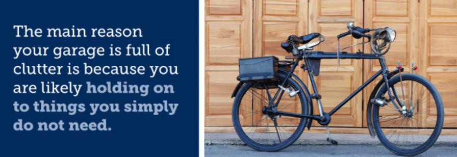 useless junk is cluttering your garage