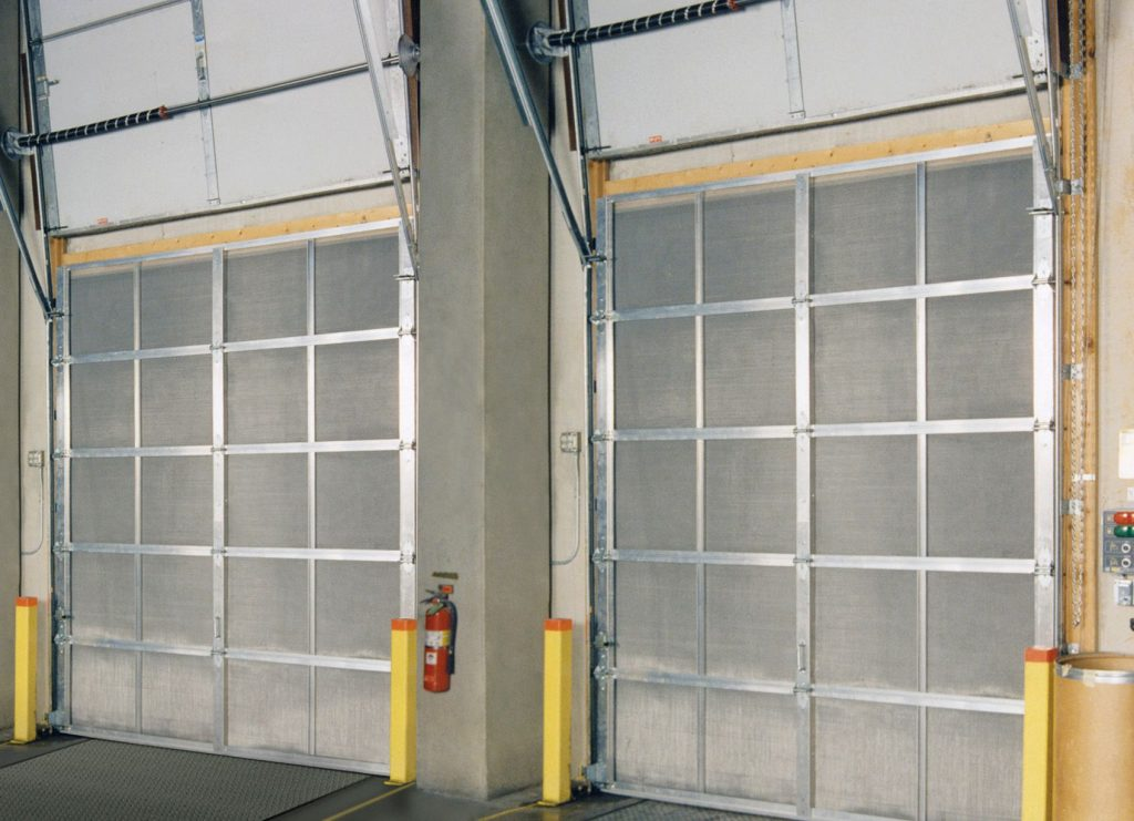 Bug Screen Commercial Door