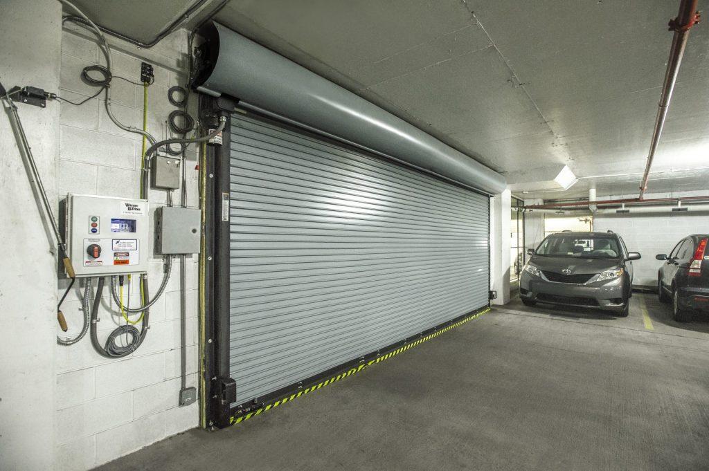 Rolling Steel Service Door