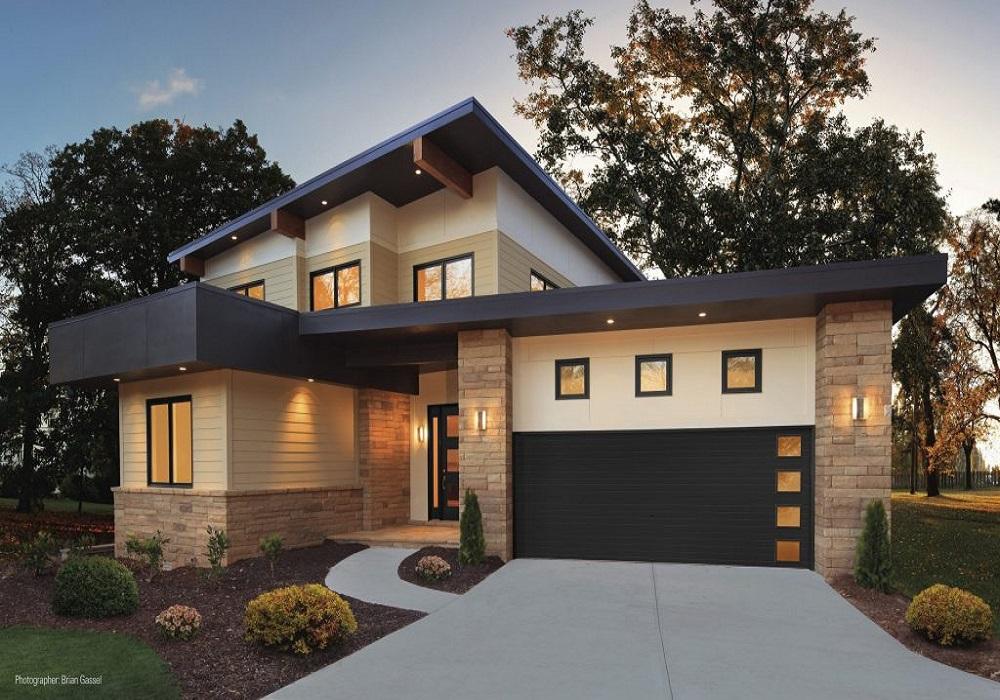 Modern Collection Residential Garage Doors